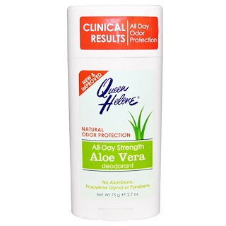 Queen Helene, All-Day Strength  Deodorant, Aloe Vera, 2.7 oz (75 g)