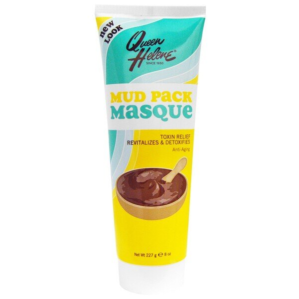 Queen Helene, Mud Pack Masque, Toxin Relief, Anti-Aging, 8 oz (227 g)