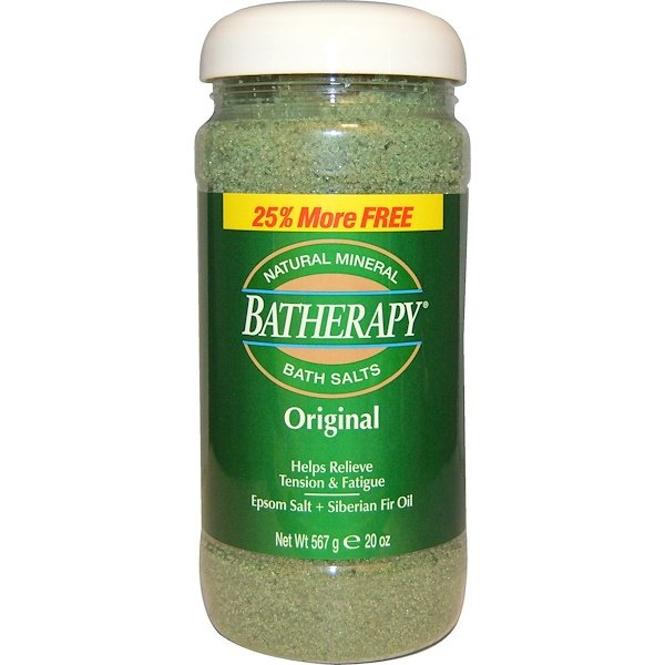 Queen Helene, Batherapy, Natural Mineral Bath Salts, Original, 20 oz (567 g) (Discontinued Item)