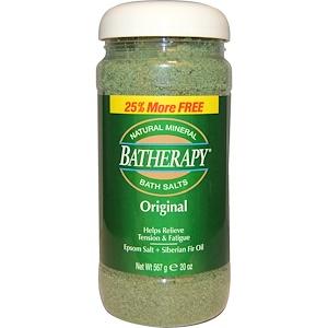 Квин Хелен, Batherapy, Natural Mineral Bath Salts, Original, 20 oz (567 g) отзывы покупателей