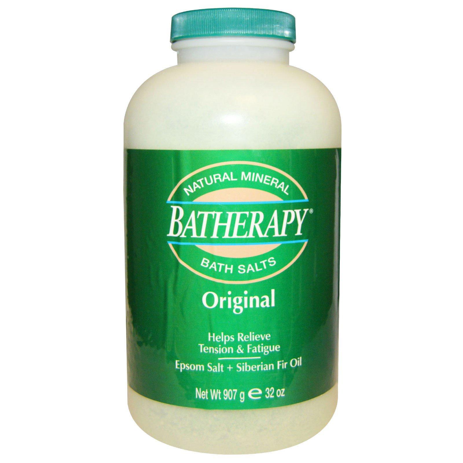 Queen Helene, Batherapy, натуральная минеральная соль для ванн, оригинал, 32 унции (907 гр)
