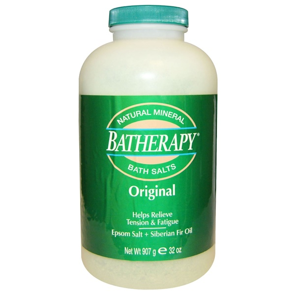 Queen Helene, Batherapy, Natural Mineral Bath Salts, Original, 2 lbs (907 g) (Discontinued Item)