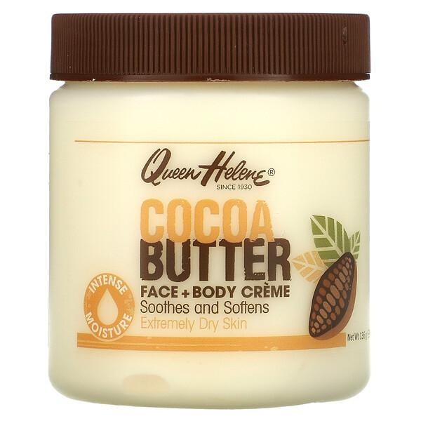 Cocoa Butter Face + Body Creme, 4.8 oz (136 g)