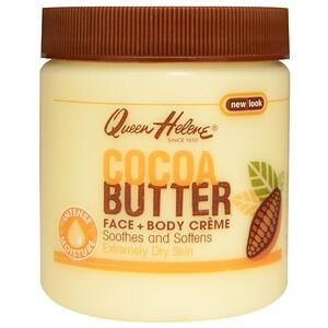 Квин Хелен, Cocoa Butter Face + Body Creme, 4.8 oz (136 g) отзывы