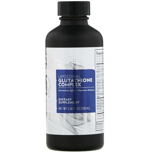 Quicksilver Scientific, Liposomal Glutathione Complex, 3.38 fl oz (100 ml) (Discontinued Item)