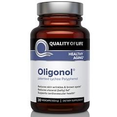 Quality of Life Labs, Олигонол, 100 мг, 30 капсул на растительной основе