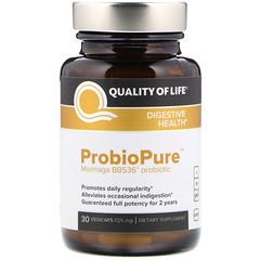 Quality of Life Labs, ProbioPure 素食膠囊,125毫克,30粒
