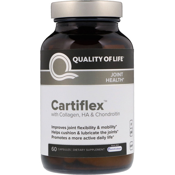 Quality of Life Labs, Cartifl​​ex膠囊,60粒