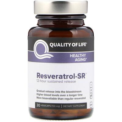 Ресвератрол-SR, 150 мг, 30 вегетарианских капсул
