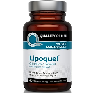Quality of Life Labs, Lipoquel, Weight Management, 200 mg, 60 Veggie Caps