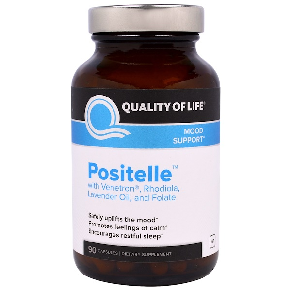 Quality of Life Labs, Positelle, 90 Capsules (Discontinued Item)