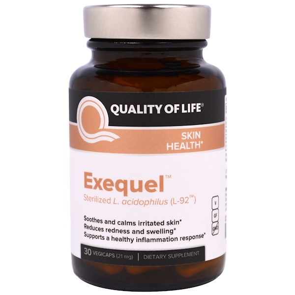 Quality of Life Labs, Exequel, 21 mg, 30 Veggie Caps (Discontinued Item)