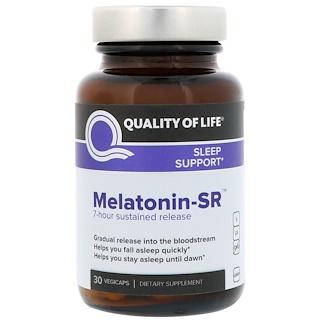 Quality of Life Labs, Melatonin-SR, 30 Vegicaps