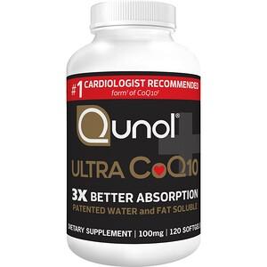 Qunol, Ultra CoQ10, 100 ml, 120 Softgels