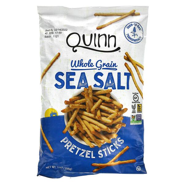 Quinn Popcorn, Pretzel Sticks, Whole Grain, Sea Salt, 7 oz (198 g)