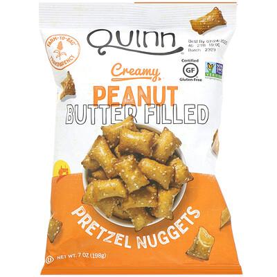 Quinn Popcorn Подушечки с кремовой арахисовой пастой, 198г (7унций)  - купить со скидкой