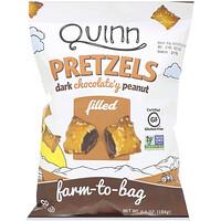 Quinn Popcorn, Pretzels, Dark Chocolate'y Peanut Filled, 6.5 oz (184 g)