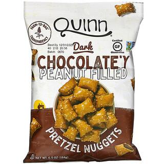 Quinn Popcorn, Pretzel Nuggets,花生黑巧克力餡蝴蝶脆餅,6.5 盎司(184 克)