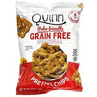 Quinn Popcorn, 椒鹽卷餅片,無谷物,5.5 盎司(156 克)