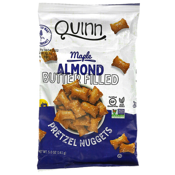 Pretzel Nuggets, Maple Almond Butter Filled , 5.0 oz (141 g)