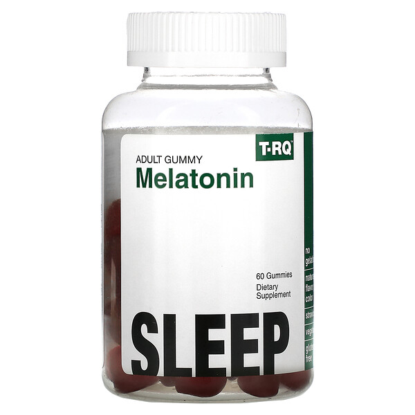 Adult Gummy, Melatonin, Sleep, Strawberry , 60 Gummies