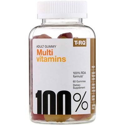 Жевательные мультивитамины для взрослых, со вкусом вишни, лимона и апельсина, 60жевательных таблеток недорого