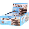 Quest Nutrition, Protein Bar, Cookies & Cream, 12 Bars, 2.12 oz (60 g) Each