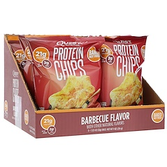 Quest Nutrition, プロテインチップス、バーベキューフレーバー、8パック、各1.125オンス (32 g)
