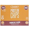 Quest Nutrition, Protein Chips, Barbecue Flavor, 8 Pack, 1.125 oz (32 g) Each