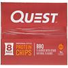 Quest Nutrition, オリジナルスタイル・プロテインチップス、バーベキュー、8袋、各1.1 oz (32 g)