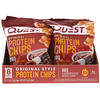 Quest Nutrition, Original Style Protein Chips, BBQ, 8 Pack, 1.1 oz (32 g) Each