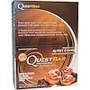 Quest Nutrition, クエストバー、プロテイン バー、シナモンロール、12個、各2.1 oz (60 g)