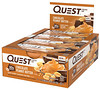 Quest Nutrition, Questbar Protein Bar, Chocolate Peanut Butter, 12 Bars, 2.1 oz (60 g) Each
