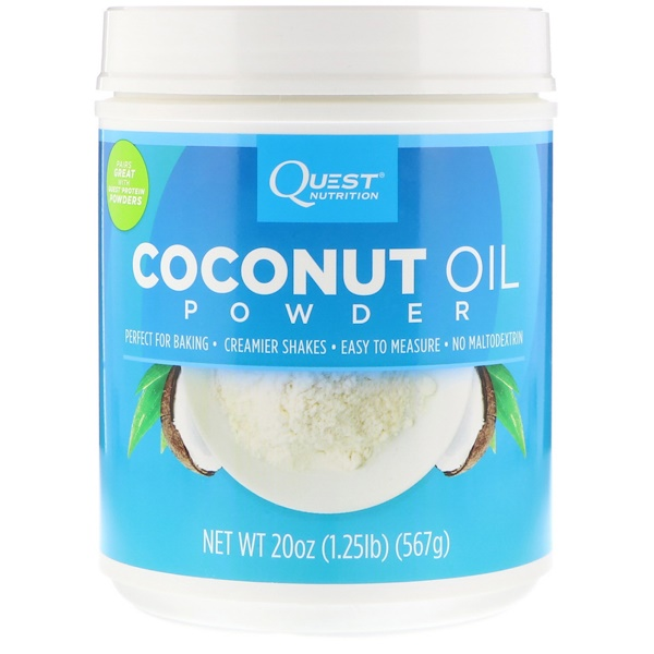 Quest Nutrition, Coconut Oil Powder, 1.25 lbs (567 g)