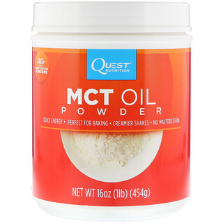 Quest Nutrition, MCT Oil Powder, 16 oz (454 g)