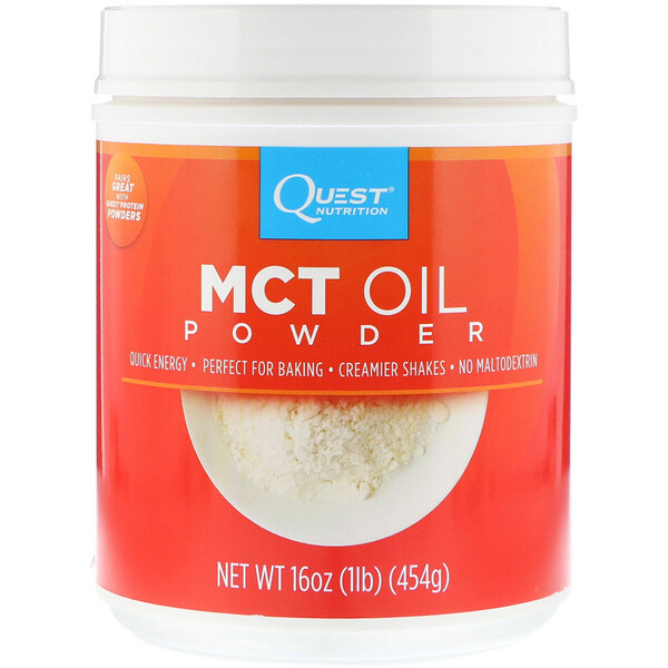 Quest Nutrition, MCTオイルパウダー、16 oz (454 g)
