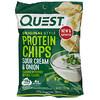 Quest Nutrition, צ'יפס חלבון בסגנון מקורי, שמנת חמוצה ובצל , 12 חפיסות, 32 גרם (1.1 אונקיות) ליחידה