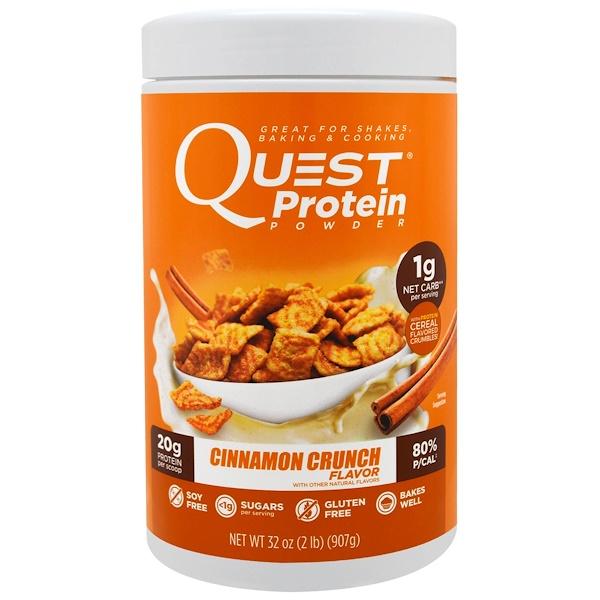 Quest Nutrition, Protein Powder, Cinnamon Crunch, 32 oz (907 g) (Discontinued Item)