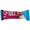 Quest Nutrition, Hero Protein Bar, Blueberry Cobbler, 10 Bars, 2.12 oz (60 g) Each