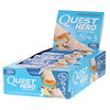 Quest Nutrition, Hero Protein Bar, Vanilla Caramel, 10 Bars, 2.12 oz (60g) Each