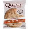 Quest Nutrition, プロテインクッキー、ピーナッツバター、12パック、各2.04 oz (58 g)