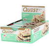 Quest Nutrition, Protein Bar, Peppermint Bark, 12 Bars, 2.12 oz (60 g) Each