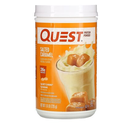 Quest Nutrition Protein Powder, Salted Caramel, 1.6 lb (726 g)
