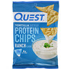 Quest Nutrition, Tortilla Style Protein Chips, Ranch, 12 Bags, 1.1 oz (32 g ) Each