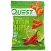 Quest Nutrition, Tortilla Style Protein Chips, Chili Lime, 12 Bags, 1.1 oz (32 g) Each