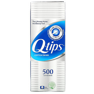Q-tips, Cotton Swabs, Family Pack, 2 Pack, 500 Swabs Each