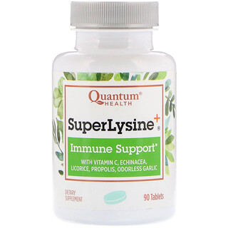 Quantum Health, Super Lysine+, Immune Support, 90 Tablets