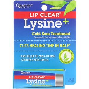 Кванту Хелс, Lip Clear Lysine+, Cold Sore Treatment, .25 oz (7 g) отзывы