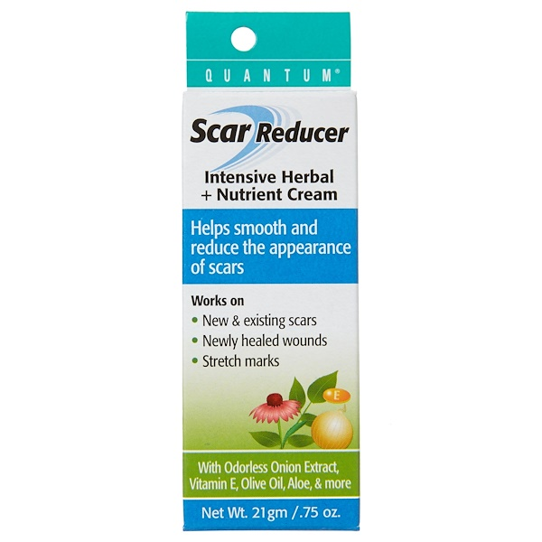 Quantum Health, Scar Reducer, Intensive Herbal + Nutrient Cream, .75 oz (21 g)