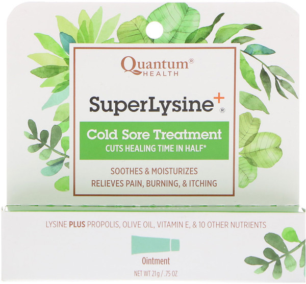 Super Lysine+, Cold Sore Treatment, .75 oz (21 g)